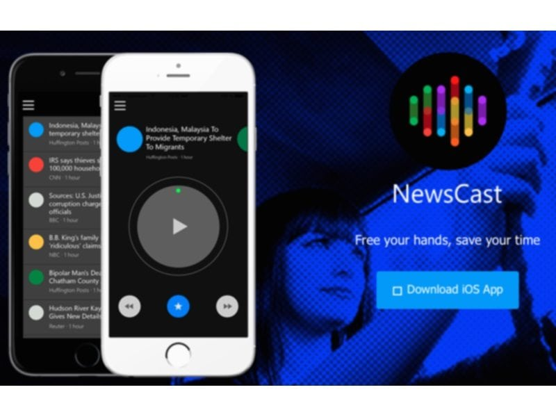 Microsoft's NewsCast App Will Read News Out To You