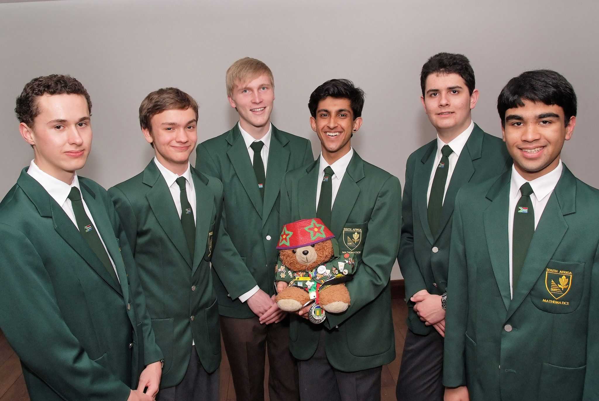 From Left; Bronson Rudner ,  David Broodryk,  Nicholas Kroon, Sanjiv Ranchod , Andrew McGregor and   Mohammed Yaseen Mowzer.