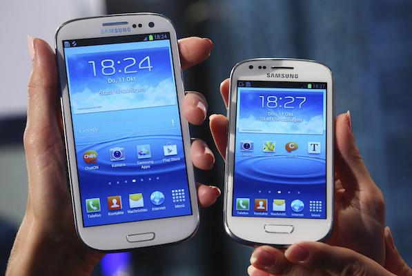 Samsung Galaxy S4 vs S4 Mini