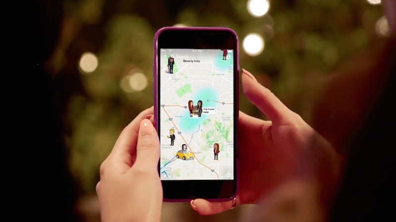Snapchat Launches New Location Sharing Feature, Snap Map ...
